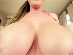 Kianna Dior - My ginormous japanese globes are waiting for your rock-hard meatpipe