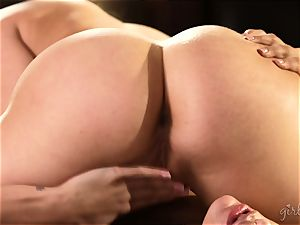 cooter gobbling sweeties Mia Malkova and AJ Applegate