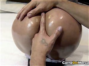 CarneDelMercado - Pick up and pound facial for a Latina