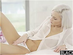 BLACKED Preppy ash-blonde girlfriend Kacey Jordan Cheats with big black cock