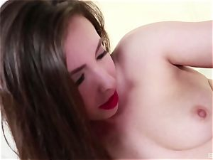 Casey Calvert is a jaw-dropping lovely dark-haired