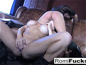 Romi Rain scorching girly-girl intercourse