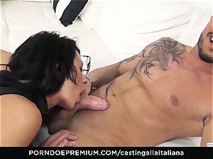 casting ALLA ITALIANA - horny hump with local inexperienced