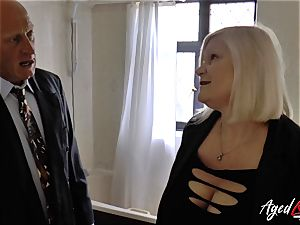 AgedLovE Lacey Starr torn up firm with Sales Agent