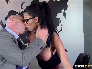 phat jugged Peta Jensen plumbed throughout the boardroom table