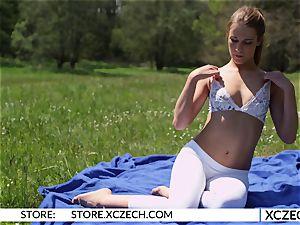 Alexis Crystal - Czech nubile softcore Yoga - XCZECH.com