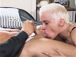HITZEFREI huge orb German milf picked up and boinked rock hard
