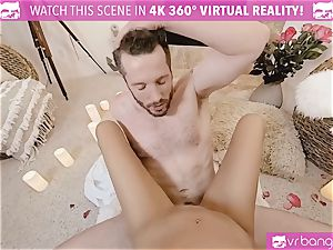 VR porn - Thanksgiving Dinner becomes kinky poking