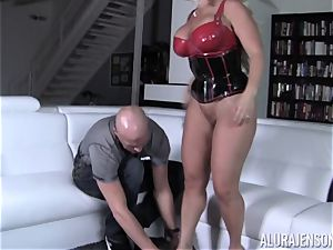 nasty Alura Jenson demonstrates her husband a new side of her