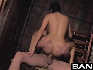 French black-haired cougar Anissa Kate Compilation