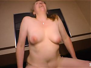 SEXTAPE GERMANY - German mature dark haired humped firm