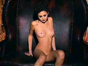 slim puny Ariana Marie spectacular rubber solo onanism