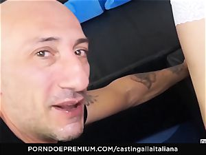 audition ALLA ITALIANA - newbie ass-fuck gape and tear up