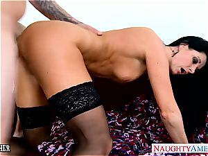 awesome India Summer in stocking bj's manmeat
