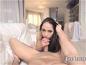 super-naughty chick Nomi Melone likes blow-job