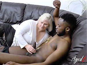 AgedLovE Mature Lacey Starr xxx suck off