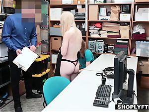 blond gf gets penalized in front of her fool boyfriend