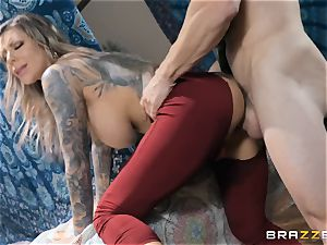 Karma RX well-lubed up and ready to poke
