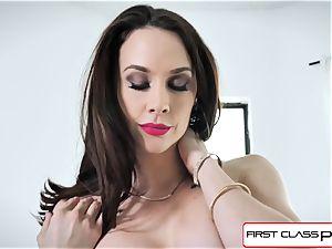FirstClassPOV - spectacular Chanel Preston inhale a big spear