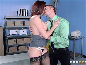 Chanel Preston bangs her marvelous fellow at work