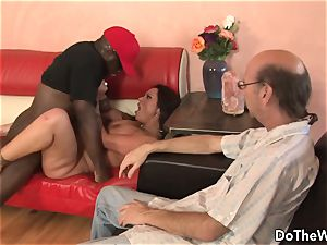 dark-hued fellow screws wifey Nikita Denise