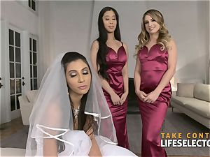 epic wedding shag with Gianna Dior