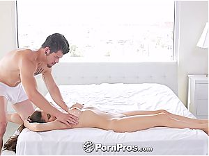 Nina North receives a sexual massage