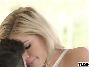 youthful adorable dame Jessa Rhodes takes immense pipe in her tight bootie