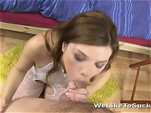 molten babe gets smashed and takes facial cumshot