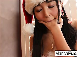asian Christmas style celebration with Marica's solo