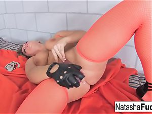 buxomy Natasha super-cute flashes Off Her awesome curves