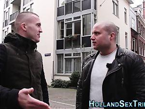 Dutch super-bitch gives dt