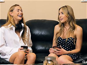 Carter Cruise and Blair Williams love each others super-fucking-hot coochies