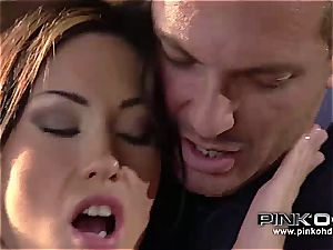 PINKO HD Mya and her cock-squeezing pinkish puss