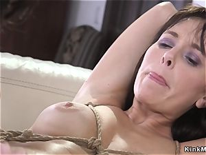 husband donk speculums wifey in restrain bondage
