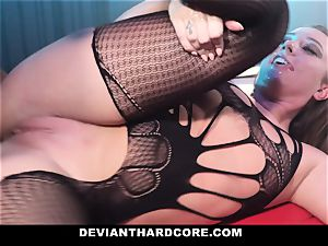 DeviantHardcore - encaged hoe Gets predominated By bbc
