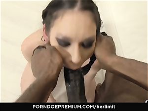 HER restrict - Arwen Gold harsh hump with ebony dude