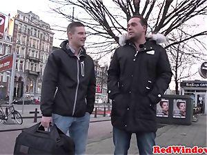 plumper amsterdam biotch boned by customer