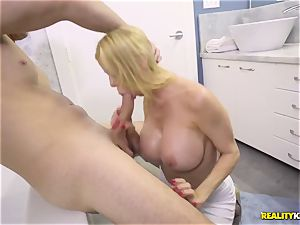 unbelievable romp with ultra-kinky big mammories cougar Alexis Fawx and her stepson