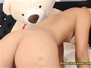 seductive dark-haired happy Time Live On cam