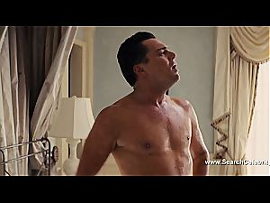 Margot Robbie naked in The wolf of Wall Street