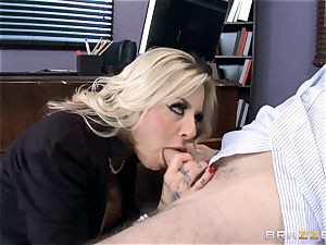 super-fucking-hot Headmistress Britney Shannon gets her arms on a nasty student