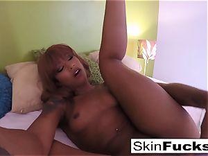 Self shot solo with flesh Diamond and her vag fucktoys