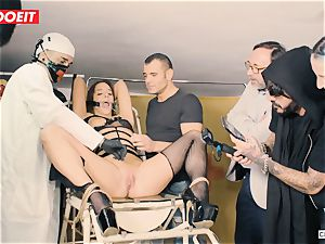LETSDOEIT - Amirah Is manhandled at her first domination & submission party