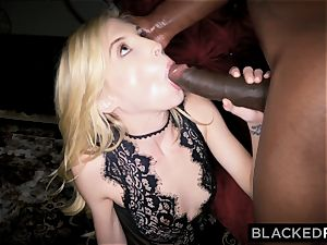BLACKEDRAW little blonde predominated by ebony dude