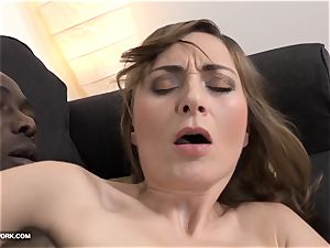 cougar rectal fuck-fest with ebony stud squealing in sensation bbc