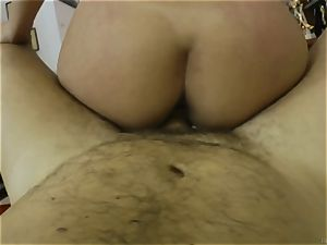 Russian sweetheart Michelle getting humped by Rocco