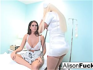 freaky Nurse Nikita tries to heal Alison