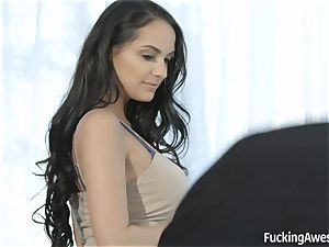 beautiful Sofi Ryan seducing the camerist