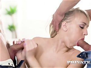 Private.com - Kira Thorn gets her fuck holes plowed